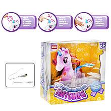 Интерактивная игрушка Смышлённый питомец: единорог розовый DISON