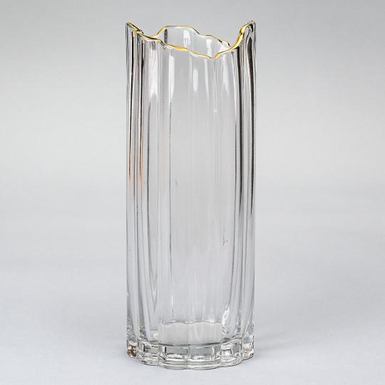 """Стеклянная ваза """"Прохлада"""" 30 см (8426-004)"""