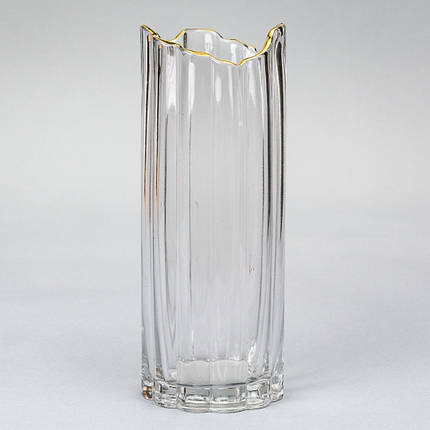 "Стеклянная ваза ""Прохлада"" 30 см (8426-004), фото 2"