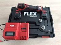 Полировальная машинка аккумуляторная Flex PXE80 10.8 - EC/2.5