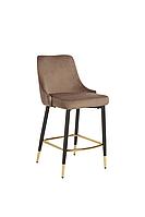 Полубарный стул B-128 мокко вельвет
