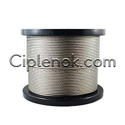 Трос стальной 5 мм DIN 3060 оцинков.
