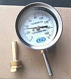 """Термометр вертикальный 0-160 С, 1/2"""", фото 2"""
