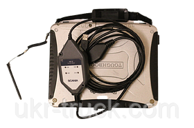 Дилерский сканер Scania vci II для диагностики грузовиков, автобусов SCANIA VCI 2