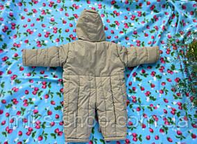 Кобмінезон дитячий на флісі Розмір 92 ( 26-х), фото 3