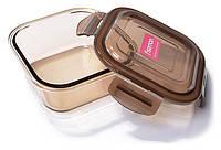 Контейнер для продуктов Fisman Luxor 800мл стеклянный, 15х15х6см