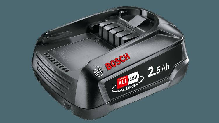 Акумулятор 18 V 2.5 Ah Li-Ion BOSCH