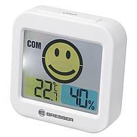 Термометр гигрометр Bresser Temeo Smile White (7007450GYE000)