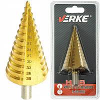 Ступенчатое сверло Verke V05059 [ 4-39 мм ]