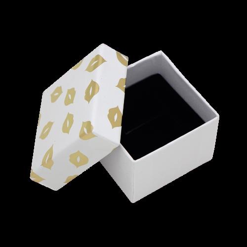 Подарочные коробки оптом box1-19 белый с золотым - фото 2
