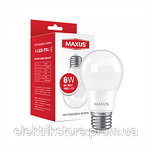 Лампа светодиодная MAXUS 1-LED-774 A55 8W 4100K 220V E27