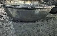 Литой чугунный чан, фото 4
