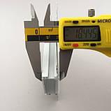 Светодиодный профиль для гипсокартона врезной 88(48х37)х19 мм (3 метра) с матовой крышкой, фото 6