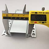 Светодиодный профиль для гипсокартона врезной 88(48х37)х19 мм (3 метра) с матовой крышкой, фото 7
