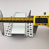 Светодиодный профиль для гипсокартона врезной 88(48х37)х19 мм (3 метра) с матовой крышкой, фото 9