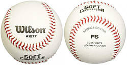 Мяч бейсбольный Wilson SCB 17 BASEBALL SS20 резина, кожа (WTA1217B)