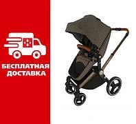 Детская коляска Welldon трансформер 2-в-1: прогулочный блок и люлька.