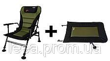 Крісло рибальське, карпова Novator SR-2 Comfort + Підставка Novator POD-1 Comfort