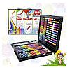 Набір для малювання та творчості Super Mega Art Set Black 168 предметів