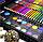 Набір для малювання та творчості Super Mega Art Set Black 168 предметів, фото 2