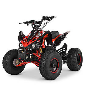 Электроквадроцикл (мотор-диференціал 1500W, 5аккум, FM, SD) Profi HB-EATV1500Q2-3(MP3) Червоний   Квадроцикл
