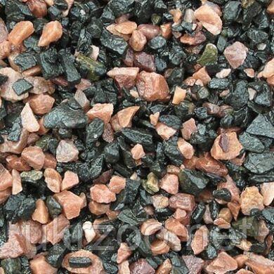 Грунт для аквариума Nechay Zoo Чёрно-розовый 10 кг (2-5 мм)