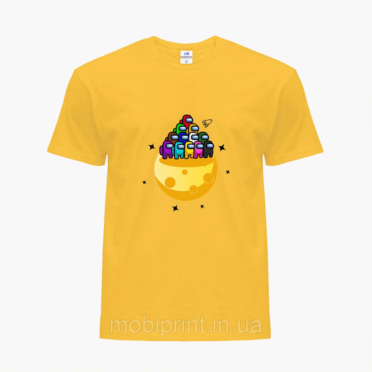 Дитяча футболка для хлопчиків Амонг Ас (Among Us) (25186-2584) Жовтий