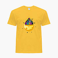 Дитяча футболка для хлопчиків Амонг Ас (Among Us) (25186-2584) Жовтий, фото 1