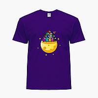 Детская футболка для мальчиков Амонг Ас (Among Us) (25186-2584) Фиолетовый, фото 1
