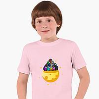 Детская футболка для мальчиков Амонг Ас (Among Us) (25186-2584) Розовый, фото 1