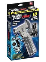 Набор Tac Tool 18in1 компактный инструмент с Чехлом (48), универсальный молоток, швейцарский нож, плоскогубцы