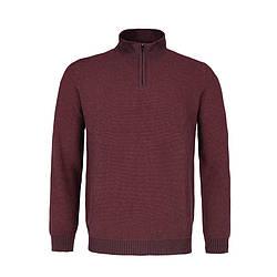 Мужской бордовый свитер Volcano S-Adi M03406-406
