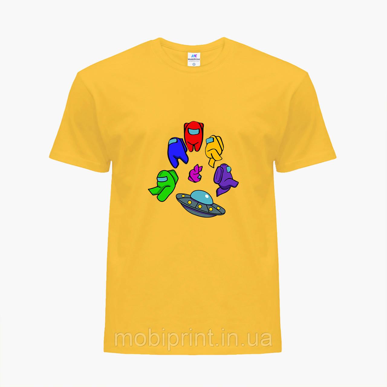 Дитяча футболка для хлопчиків Амонг Ас (Among Us) (25186-2585) Жовтий