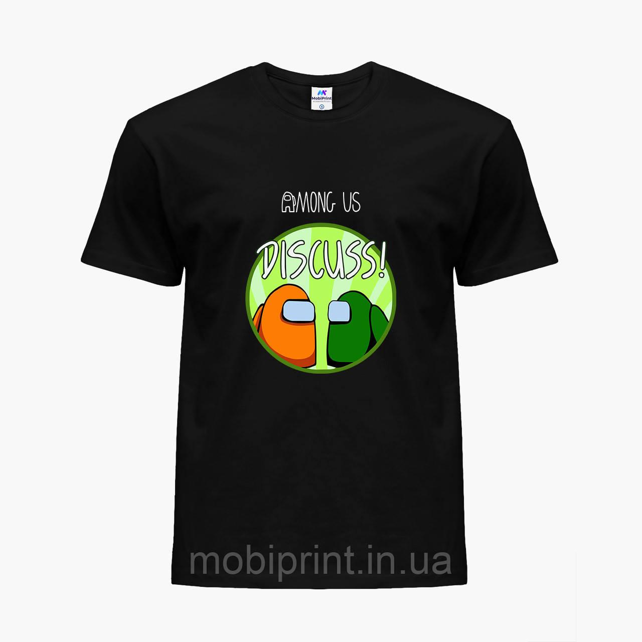 Детская футболка для мальчиков Амонг Ас (Among Us) (25186-2588) Черный