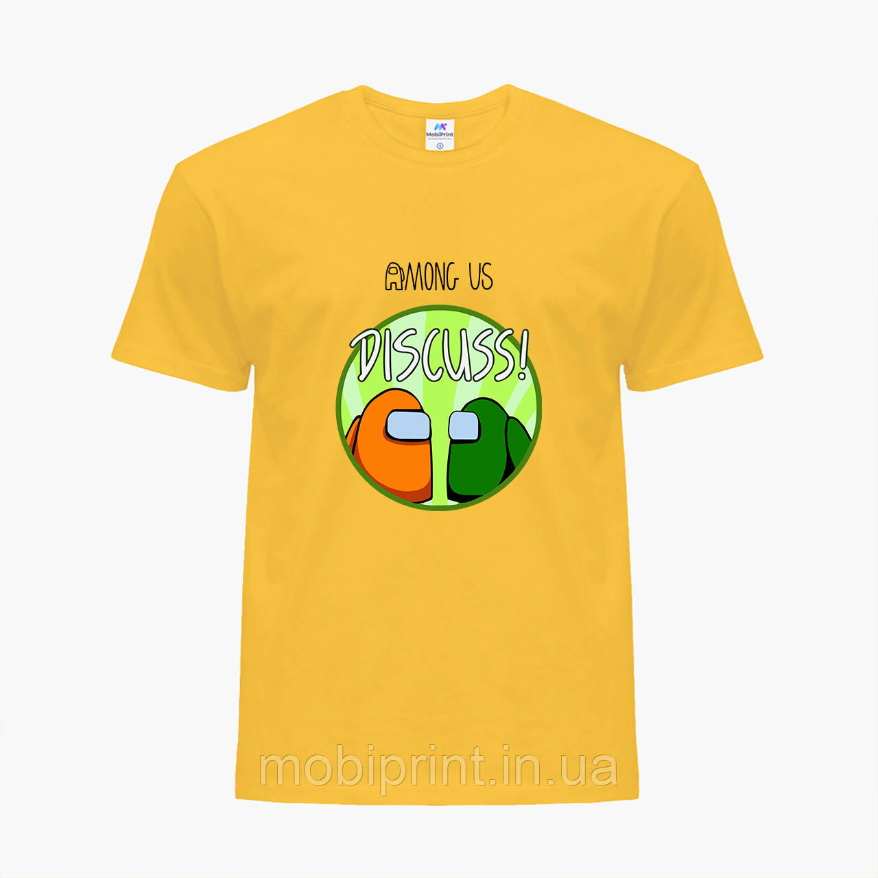 Детская футболка для мальчиков Амонг Ас (Among Us) (25186-2588) Желтый