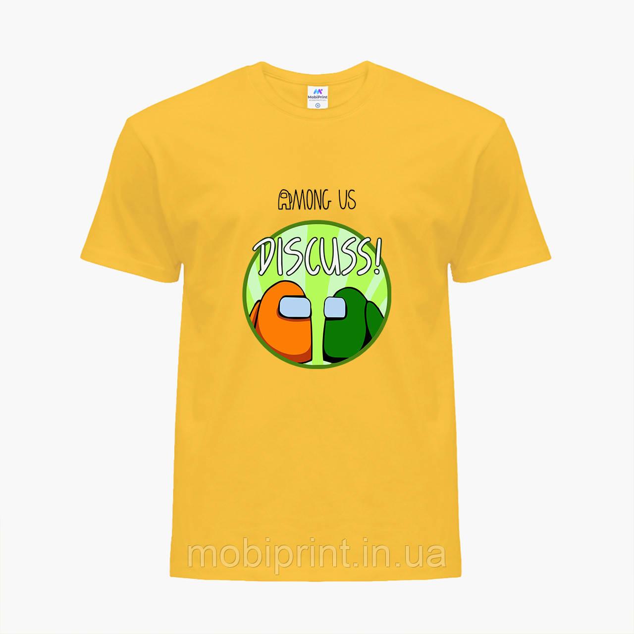Дитяча футболка для хлопчиків Амонг Ас (Among Us) (25186-2588) Жовтий