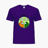 Детская футболка для мальчиков Амонг Ас (Among Us) (25186-2588) Фиолетовый, фото 1