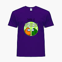 Дитяча футболка для хлопчиків Амонг Ас (Among Us) (25186-2588) Фіолетовий, фото 1