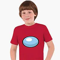 Дитяча футболка для хлопчиків Амонг Ас (Among Us) (25186-2606) Червоний, фото 1