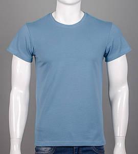 Футболка чоловіча однотонна (0Г00), Блакитний