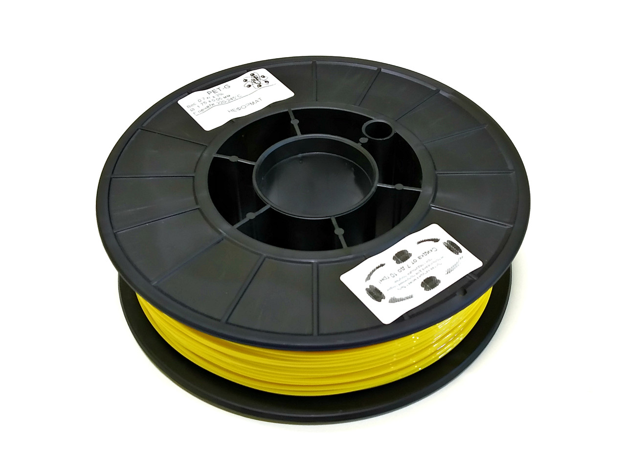 НЕФОРМАТ Жовтий PET-G (1.75 мм/0.7 кг)