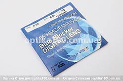 Компьютерная линза  ДЛЯ ЗРЕНИЯ Blue Blocker Digital Lens 1.56 Super Hydrophobic