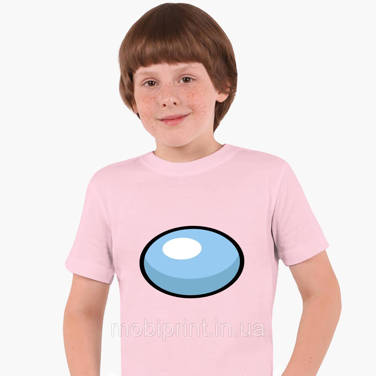 Детская футболка для мальчиков Амонг Ас (Among Us) (25186-2606) Розовый