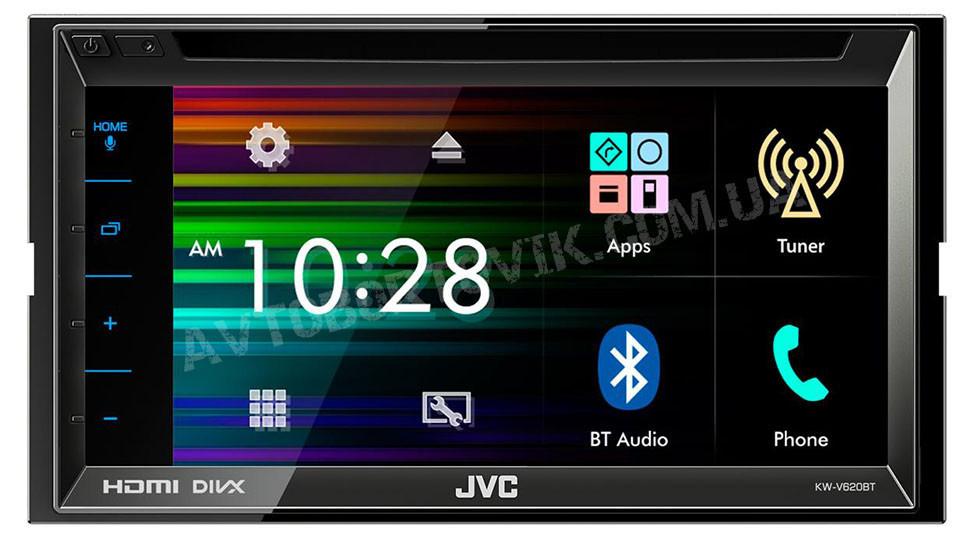 Мультимедия 2 DIN JVC KW-V620BTE