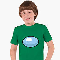 Дитяча футболка для хлопчиків Амонг Ас (Among Us) (25186-2606) Зелений, фото 1