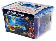 Конструктор Magplayer магнитный набор 268 элементов (MPT-268)