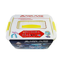 Конструктор Magplayer магнитный набор бокс 237 элемент (MPT2-237)
