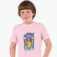 Детская футболка для мальчиков блогер Влад Бумага А4 (blogger Vlad A4) (25186-2617) Розовый, фото 1