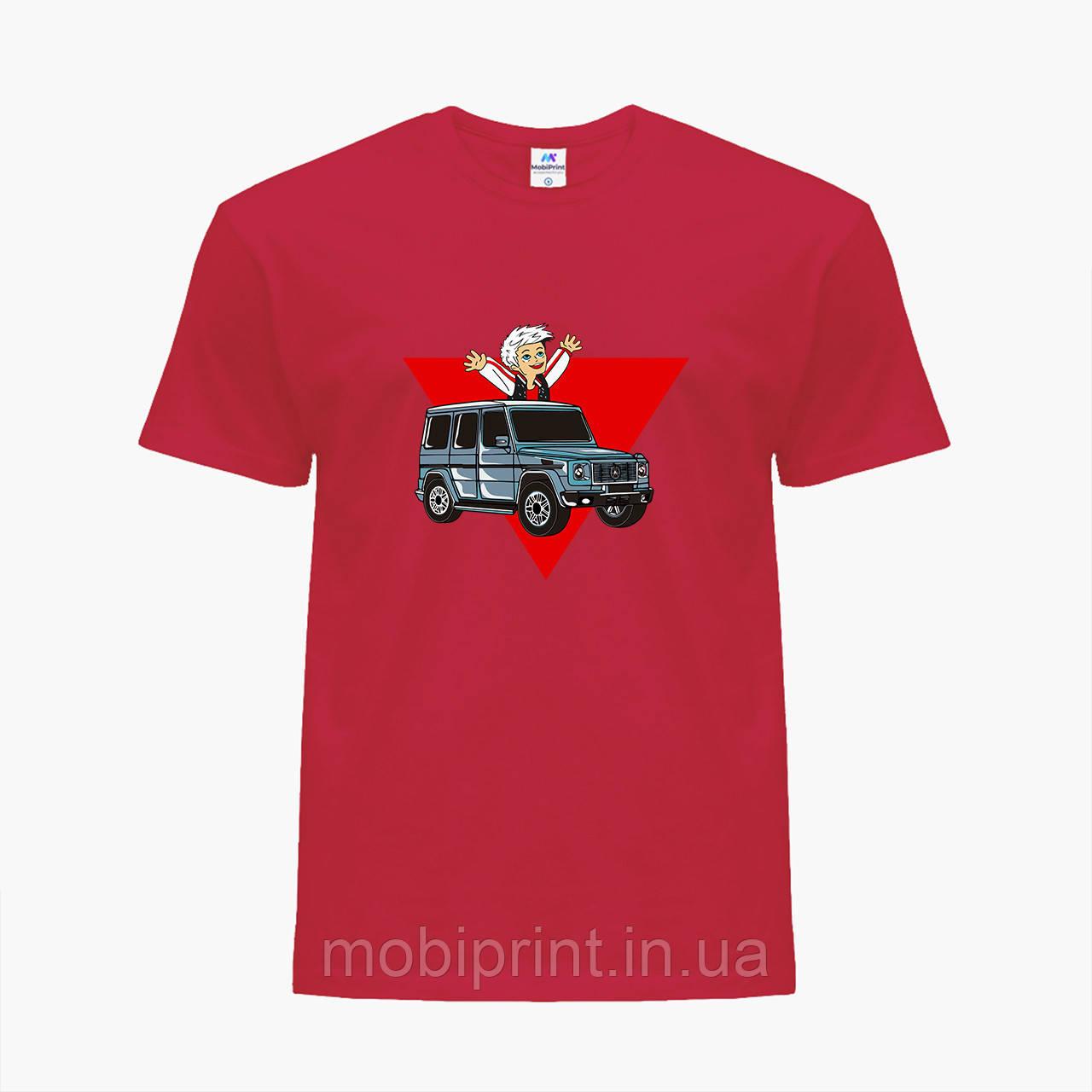 Дитяча футболка для хлопчиків блогер Влад Папір А4 (blogger Vlad A4) (25186-2618) Червоний