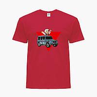 Дитяча футболка для хлопчиків блогер Влад Папір А4 (blogger Vlad A4) (25186-2618) Червоний, фото 1